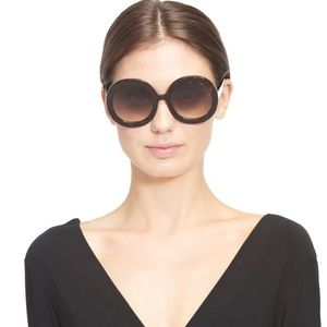 Alice + Oliva Melrose Sunglasses in Dark Tortoise